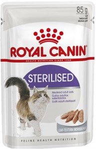 ROYAL CANIN STERILISED IN LOAF PASZTET 85G DLA KOTA