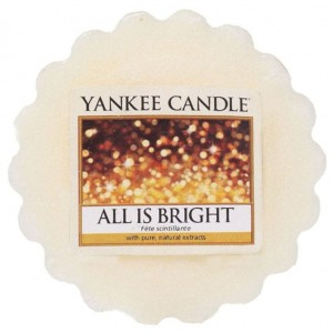 Wosk All Is Bright Yankee Candle cytrusy i piżmo