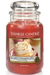 Yankee Candle świeca Sugared Cinnamon Apple