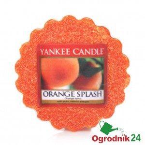 YANKEE CANDLE ORANGE SPLASH WOSK ŚWIECA KOMINEK