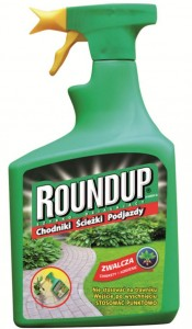 Roundup Hobby ścieżki i podjazdy spray 1L SUBSTRAL
