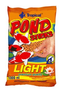 TROPICAL POND STICKS LIGHT 1L/90G