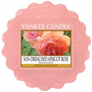Wosk Sun-Drenched Apricot Rose Yankee Candle kwiaty