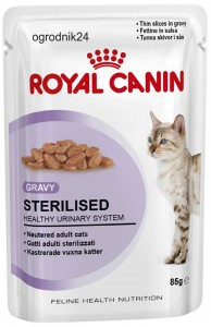ROYAL CANIN 18558 STERILISED SASZETKA W SOS 85G