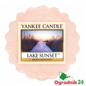 YANKEE CANDLE LAKE SUNSET WOSK ŚWIECA KOMINEK