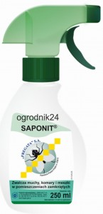SAPONIT DO ZWALCZANIA MUCH, KOMARÓW 250ML W-WA