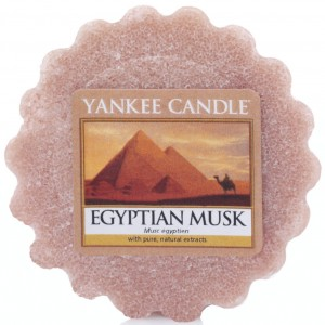 Yankee Candle wosk Egyptian Musk piżmo cedr wanilia