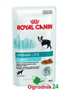 ROYAL CANIN URBAN LIFE JUNIOR 150G SASZETKA DLA PSA W-WA
