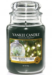 Yankee Candle świeca The Perfect Tree sosna i cedr