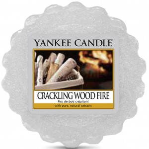 Yankee Candle wosk Crackling Wood Fire wanilia cedr