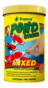 TROPICAL POND STICKS MIXED 1L/90G