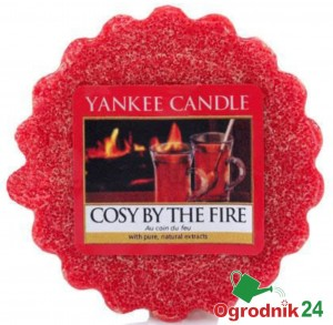 YANKEE CANDLE WOSK COSY BY THE FIRE ŚWIECA KOMINEK