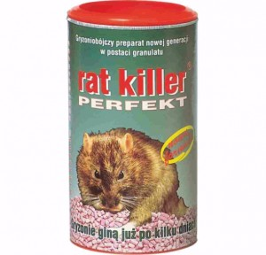 GRANULAT TRUTKA NA MYSZY I SZCZURY BEST RAT KILLER PERFECT 250G W-WA