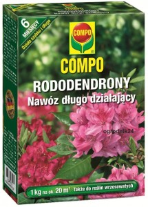 COMPO NAWÓZ RODODENDRON 1KG 6MIES TYP OSMOCOTE