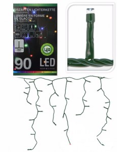 LAMPKI SOPLE 377181 MULTICOLOR 90 LED CHOINKA W-WA