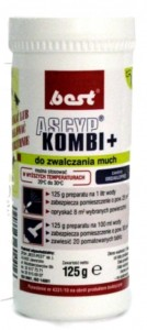 BEST ASCYP 125G KOMBI PLUS DO ZWALCZANIA MUCH W-WA
