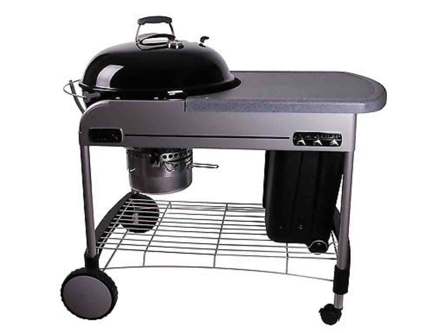 weber grill performer deluxe charcoal grill weber. Black Bedroom Furniture Sets. Home Design Ideas