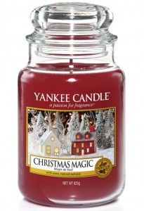 Yankee Candle świeca Christmas Magic kadzidło i jodła