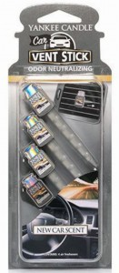 Yankee Candle Car Vent Stick New Car Scent do kratki auta
