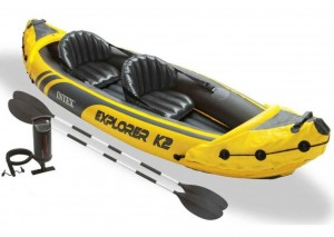 Kajak dmuchany explorer K2  312cm INTEX 68307