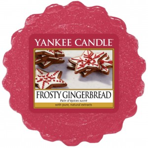Yankee Candle wosk Frosty Gingerbread pierniczki