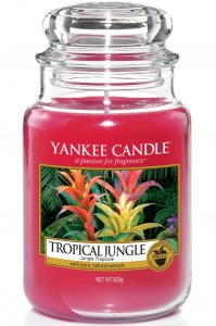 Yankee Candle świeca w słoiku Tropical Jungle