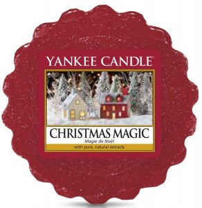 WOSK CHRISTMAS MAGIC YANKEE CANDLE AROMAT JODŁY