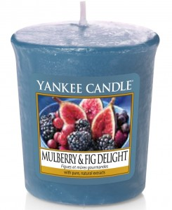 Yankee Candle świeca sampler Mulberry & Fig Delight owoce
