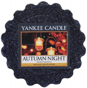 Yankee Candle wosk Autumn Night męski zapach
