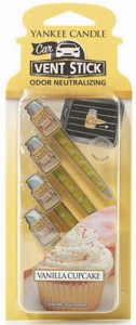 YANKEE CANDLE CAR VENT STICK VANILLA CUPCAKE ZAPACH DO AUTA