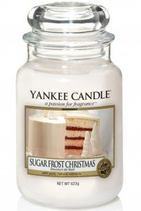Yankee Candle świeca Sugar Frost Christmas