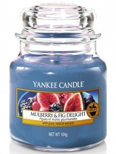 Yankee Candle świeca mała Mulberry & Fig Delight