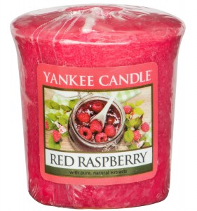 ŚWIECA RED RASPBERRY SAMPLER YANKEE CANDLE MALINY