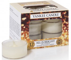 Yankee Candle tealight All Is Bright 12szt podgrzewacz