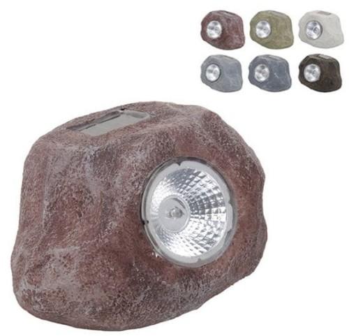 Lampa Solarna Ogrodowa Kamień 15cm 800191