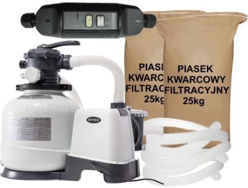 Podłącz filtr piaskowy basen intex