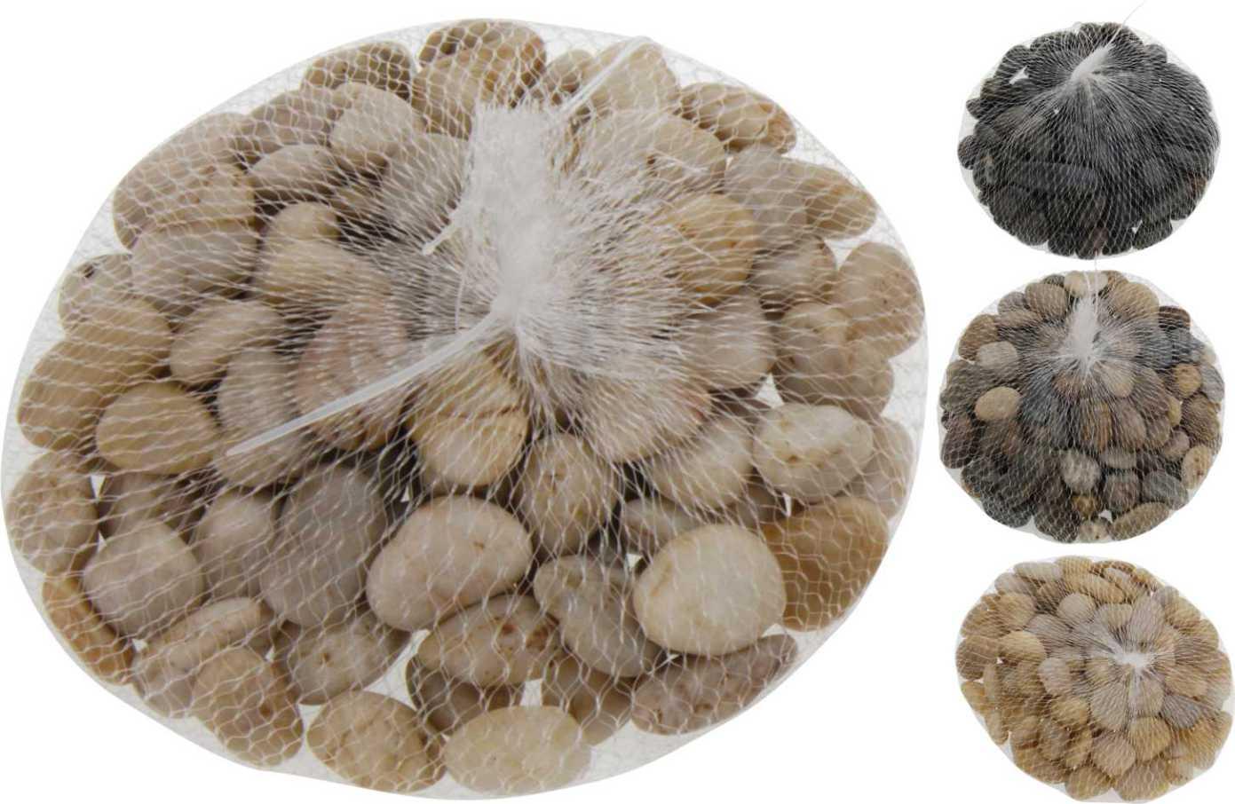 Kamienie Dekoracyjne Ozdobne 1kg 4 Wzory 900524
