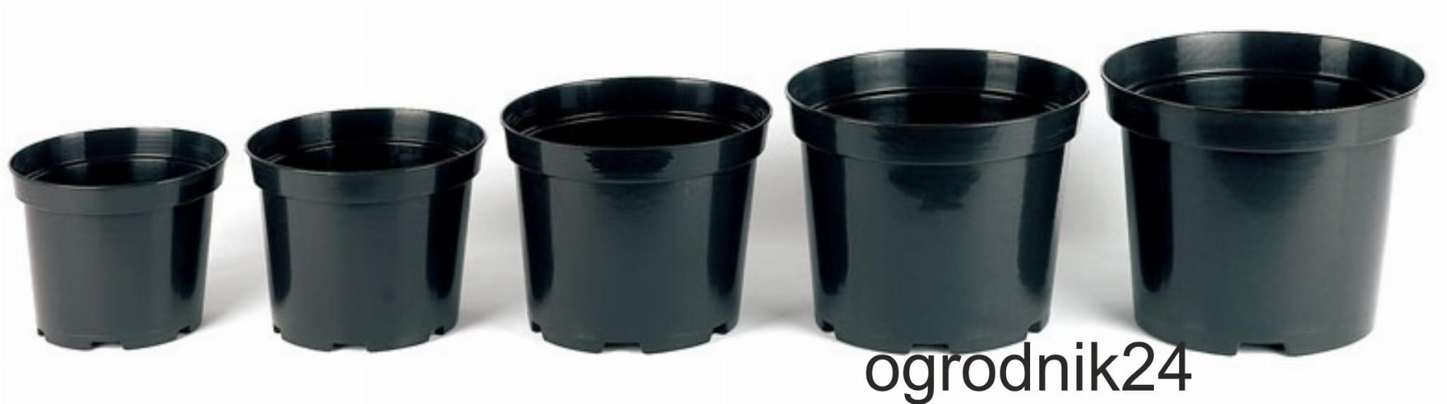 Doniczka Produkcyjna 025 L 9 Cm 100 Szt Czarna W Wa