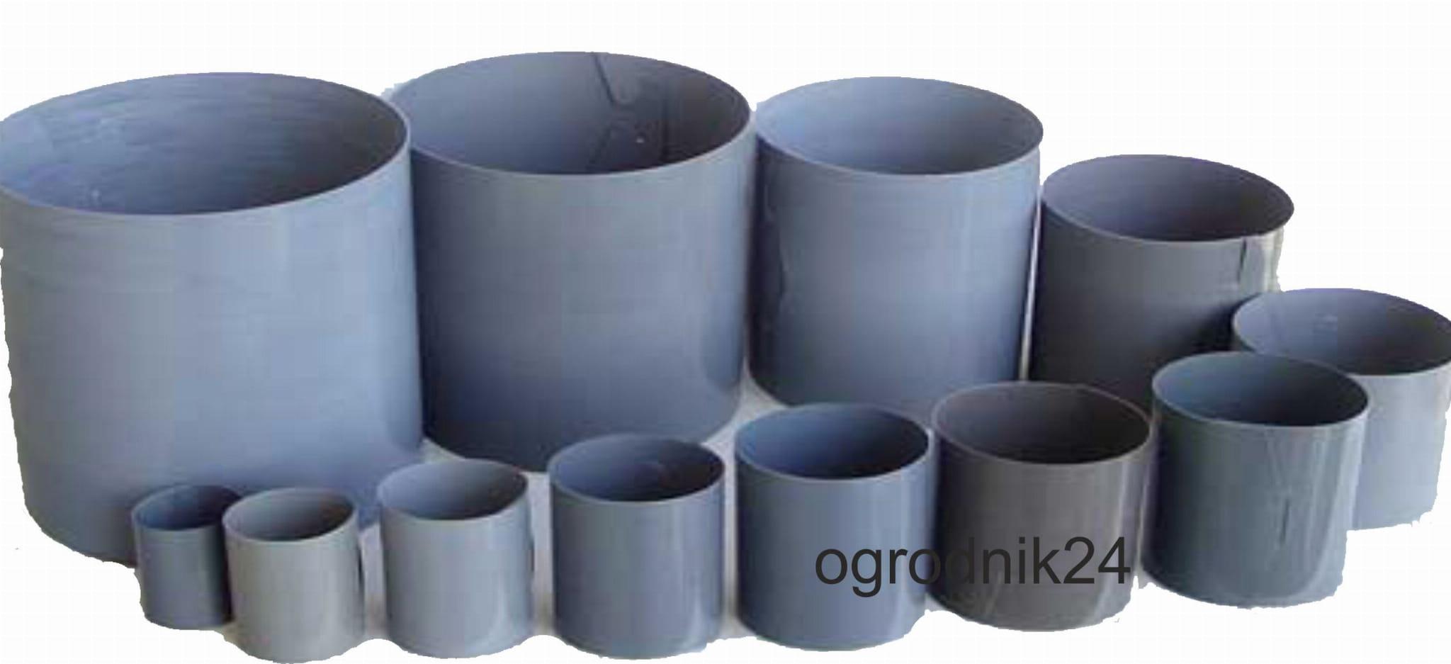 Pierścień Spinany 56 100szt Rozsada Cylinderki Doniczki